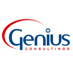 Genius Consultings Logo Design
