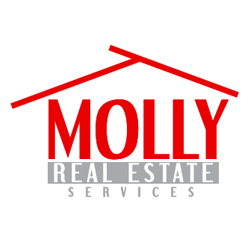 Molly Real Estate Services  Logo Design