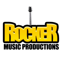 Rocker Music Productions Logo Design