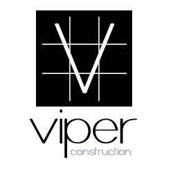 Viper Construction Logo Design