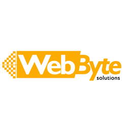 Web Byte Solutions Logo Design