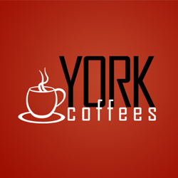 York Coffees Logo Design