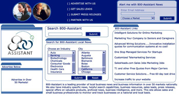 800 Assistant Web Design
