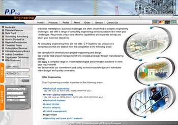 PiPing Industrial Web Design