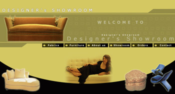 Designers Showroom Web Design