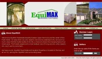 Equi Max Web Design