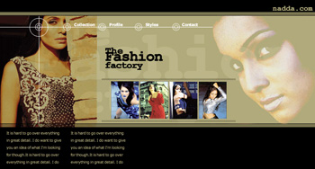 The Fashion Factory Web Design